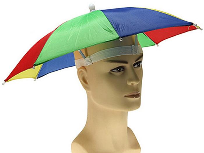 Foldable UV Protection Umbrella Hat Cap-4.37 Online ...