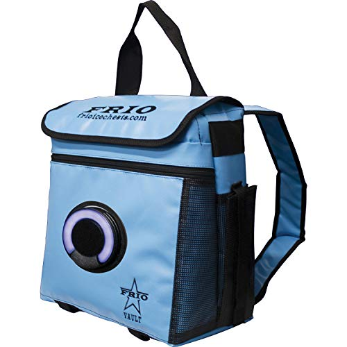 FRIO 360 Backpack Cooler with Bluetooth Speaker (Marine Blue)