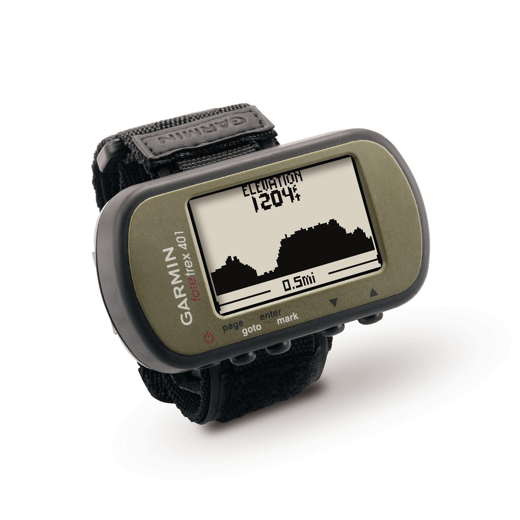 Garmin Foretrex 401| Trail Wrist-Watch with GPS Free