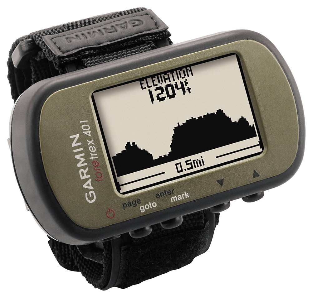 Garmin Foretrex 401 Waterproof Hiking GPS System w ...