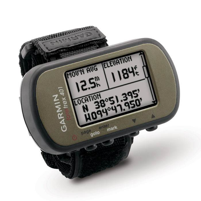 Garmin Foretrex 401 – Wrist Mounted GPS Navigator | The ...