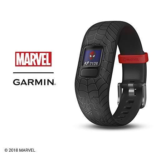 Garmin vívofit Jr 2 - Marvel Spider-Man, Black