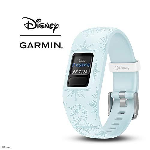 Garmin vívofit Jr 2 - Disney Frozen 2, Elsa, Light Blue
