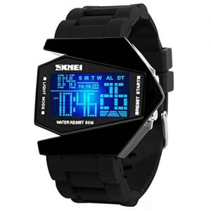 Skmei Futuristic Digital Airplane Shaped Watch 3