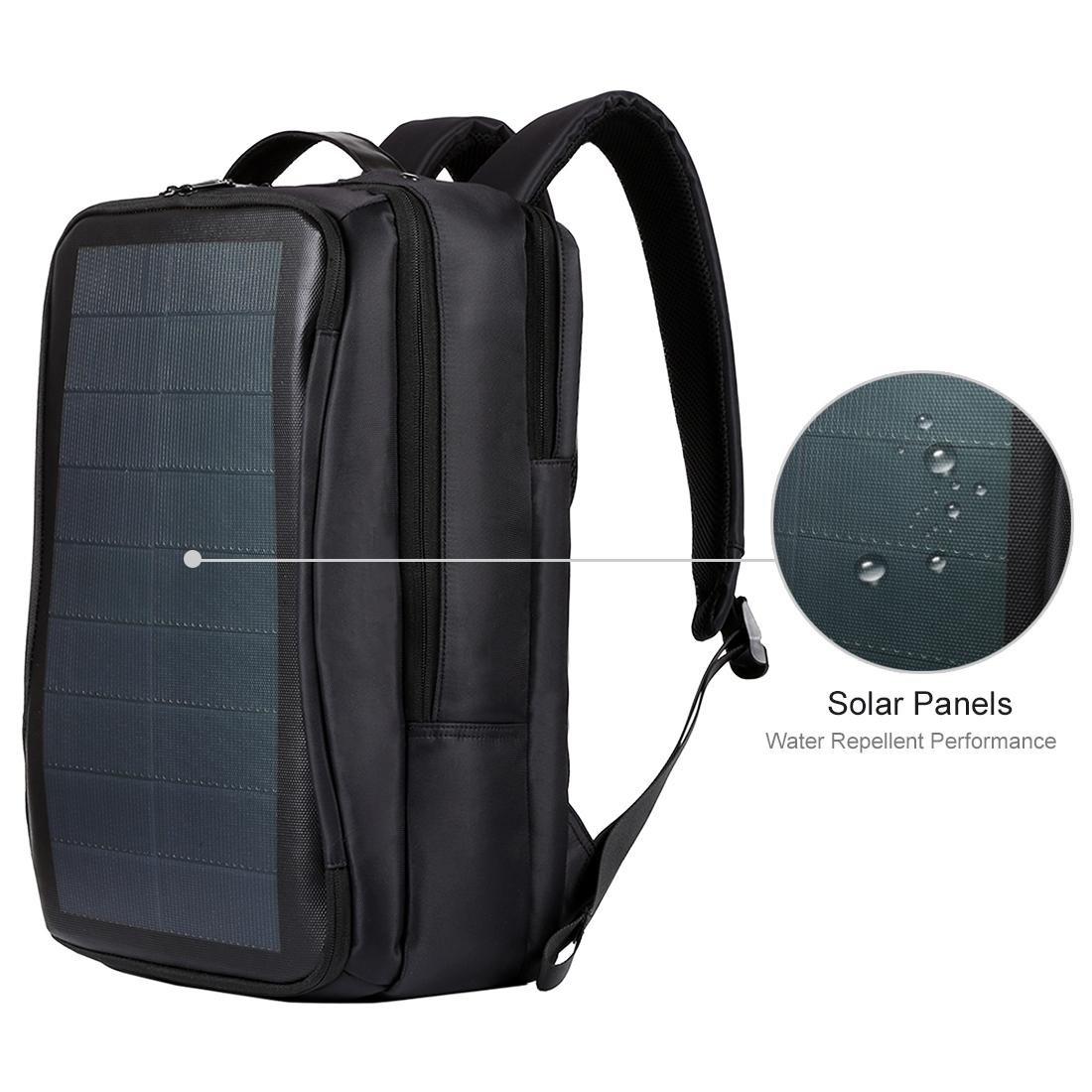 HAWEEL Flexible Solar Panel 14W Power Backpack Laptop Bag ...