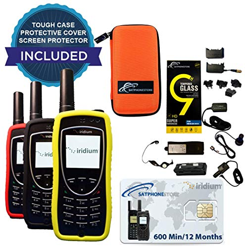 Iridium 9575 Extreme Satellite Phone - 600 Mins