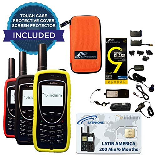 Iridium 9575 Extreme Satellite Phone - Latin America: 200 Minutes