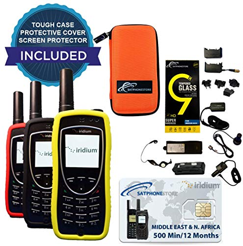 Iridium 9575 Extreme Satellite Phone - Middle East & N. Africa: 500 Minutes