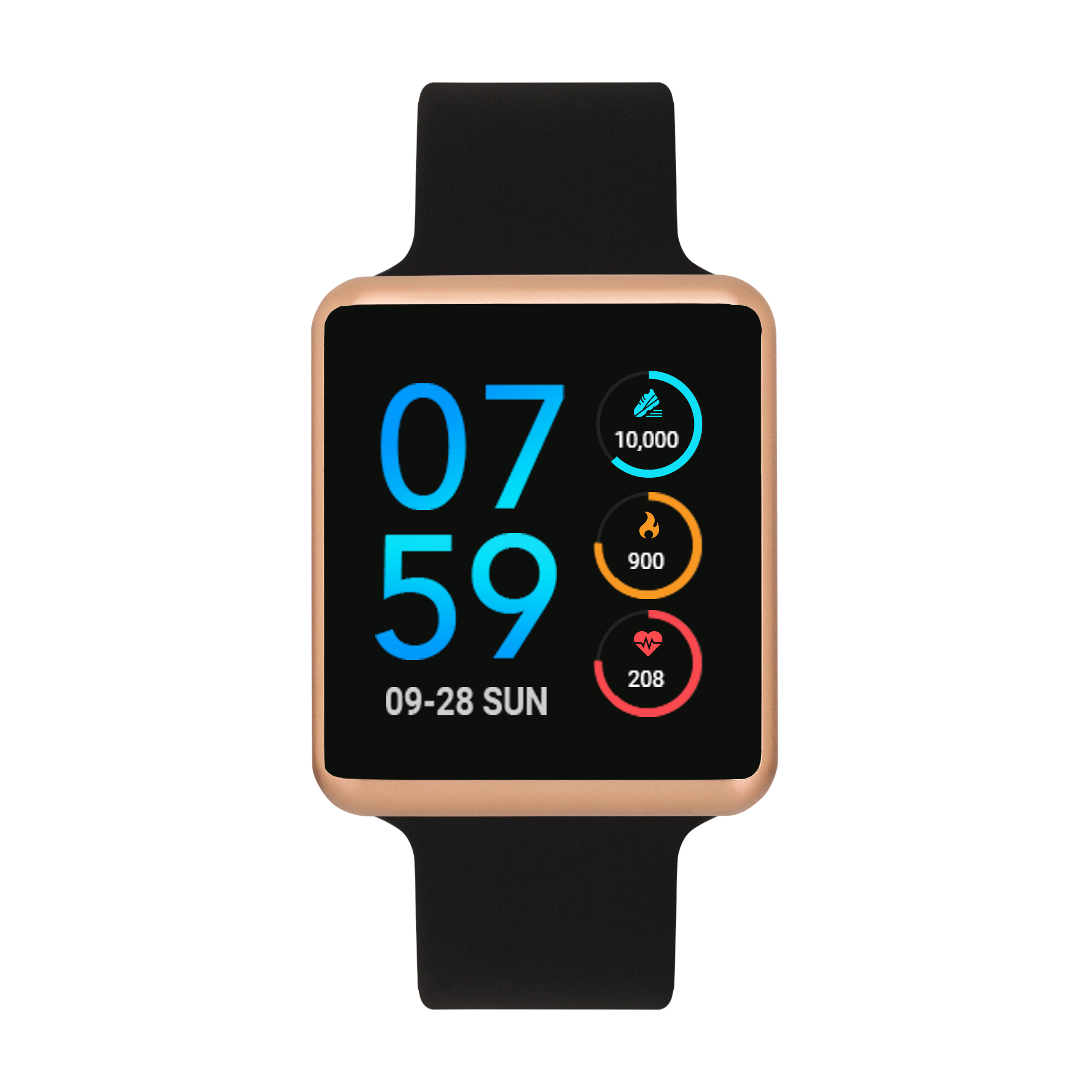 iTouch Air Special Edition Silicone Strap Smartwatch with ...