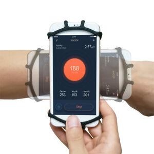 Jogging Running Phone Holder Wristband 180°Rotatable ...