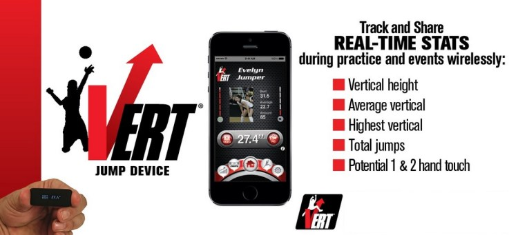 Jump for Joy with the VERT Wearable Jump Rate Monitor ...