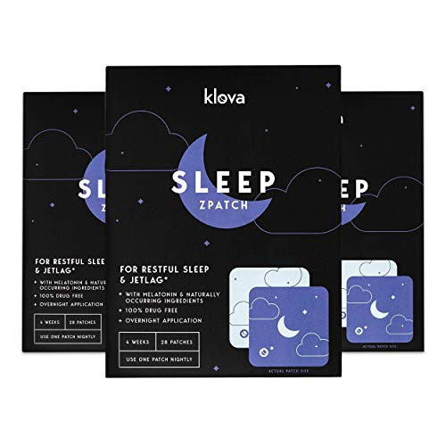 Klova Sleep Patch - 3 Pack (84 Patches)