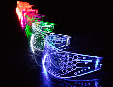 LED Light Up Glasses - Neon Nightlife