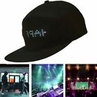 Led Smart Cap Mobile Phone App Controlled Display Screen Hat Party Club LED