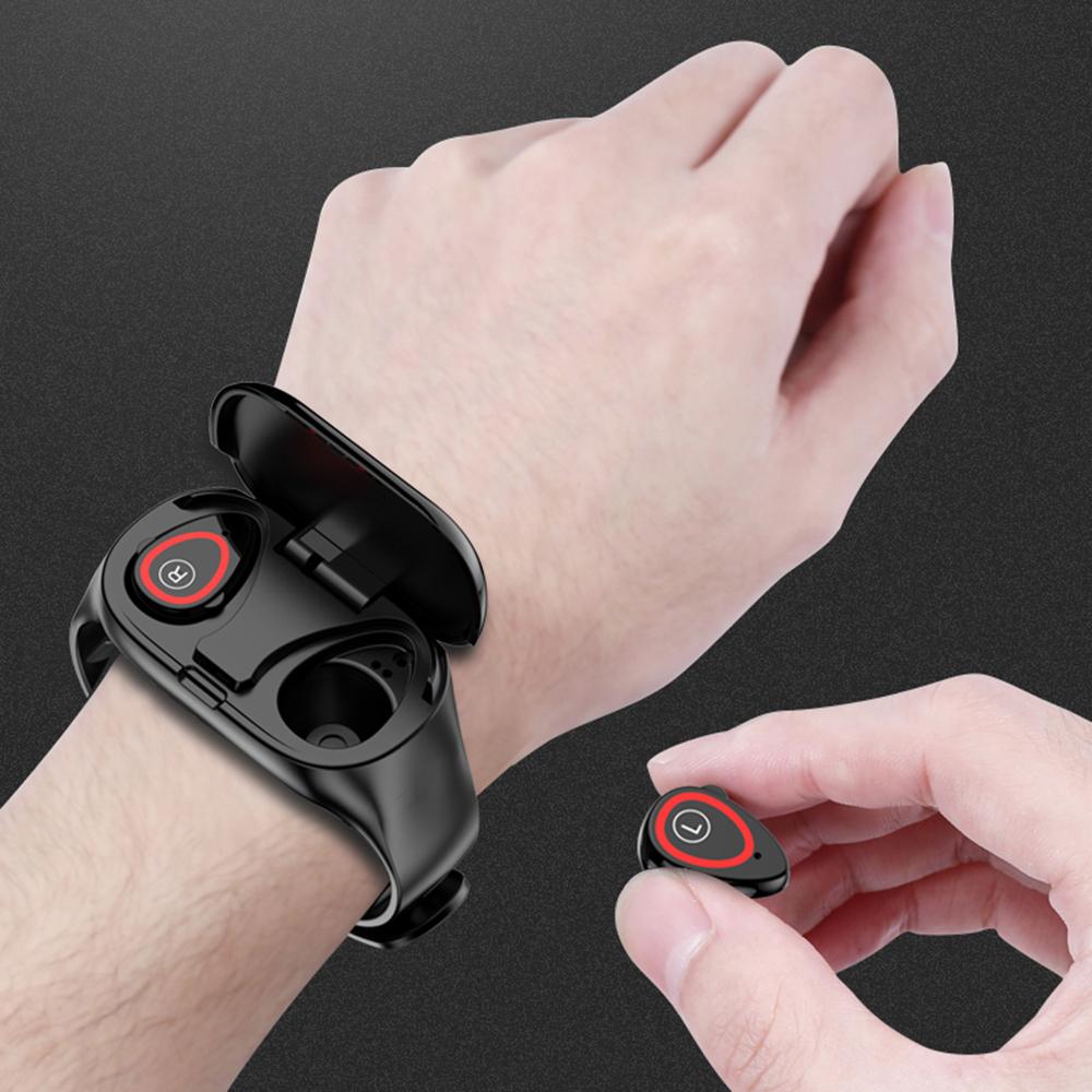 LEMFO M1 AI Sports Smart Watch With Bluetooth Earphone ...