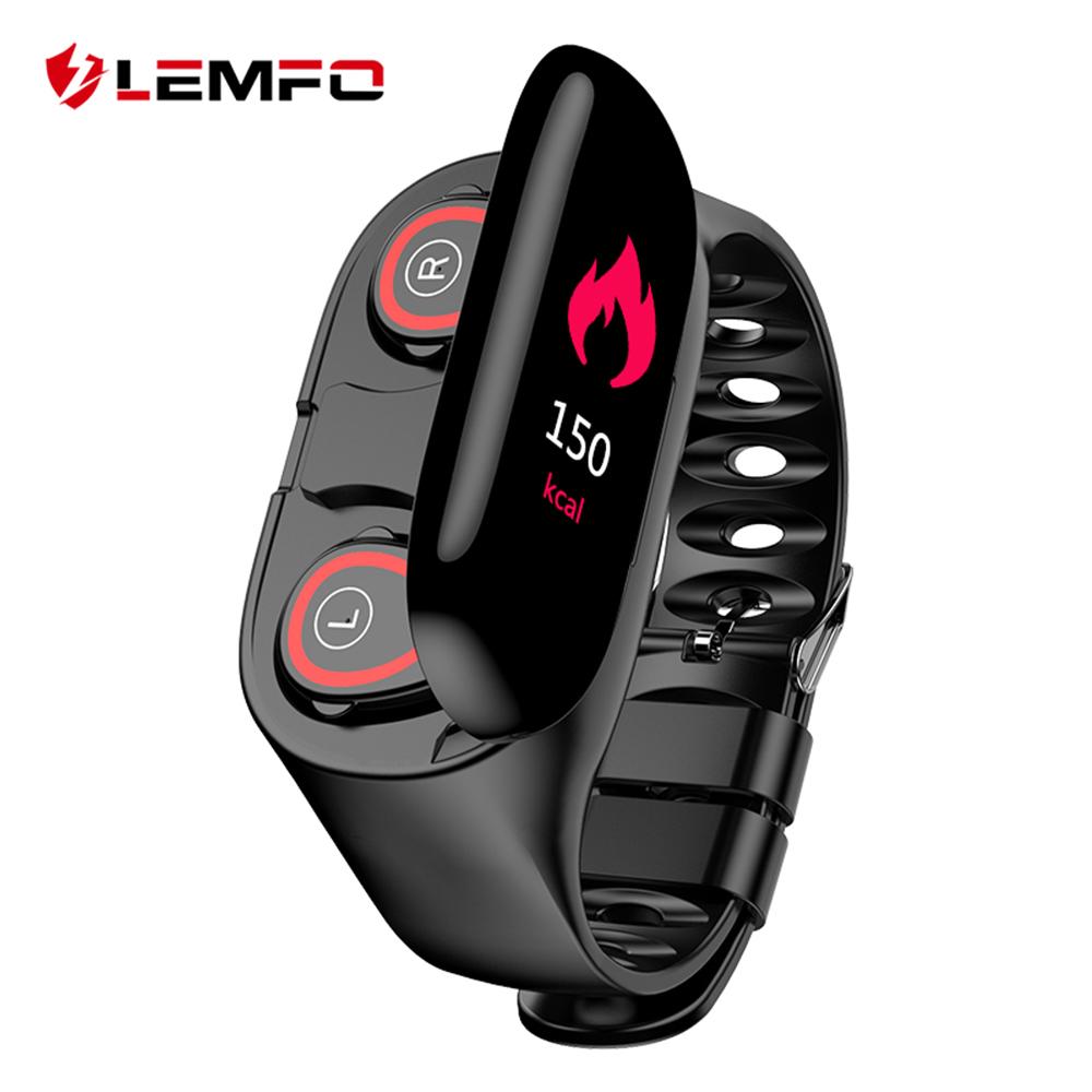 LEMFO M1 Newest AI Smart Watch With Bluetooth Earphone ...