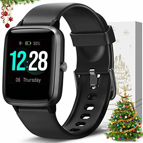 LETSCOM Smart Watch Fitness Tracker Heart Rate Monitor ...