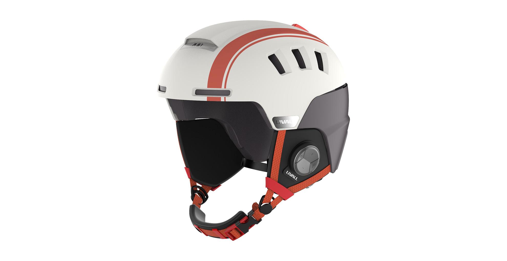 Livall RS1 je nová chytrá lyžařská přilba, která nabízí ...