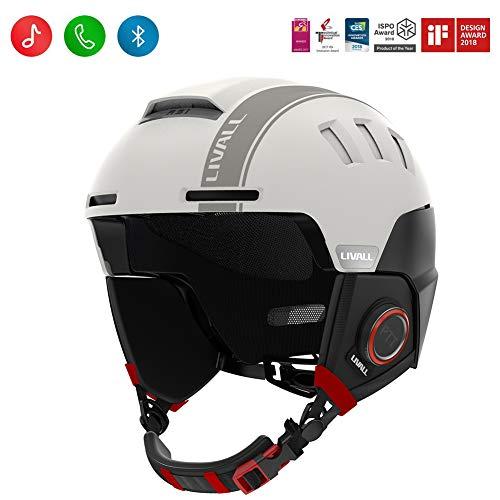 Livall RS1 Smart Ski Helmet - WHITE