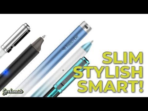 Livescribe Aegir Pro Edition Smartpen Review - YouTube