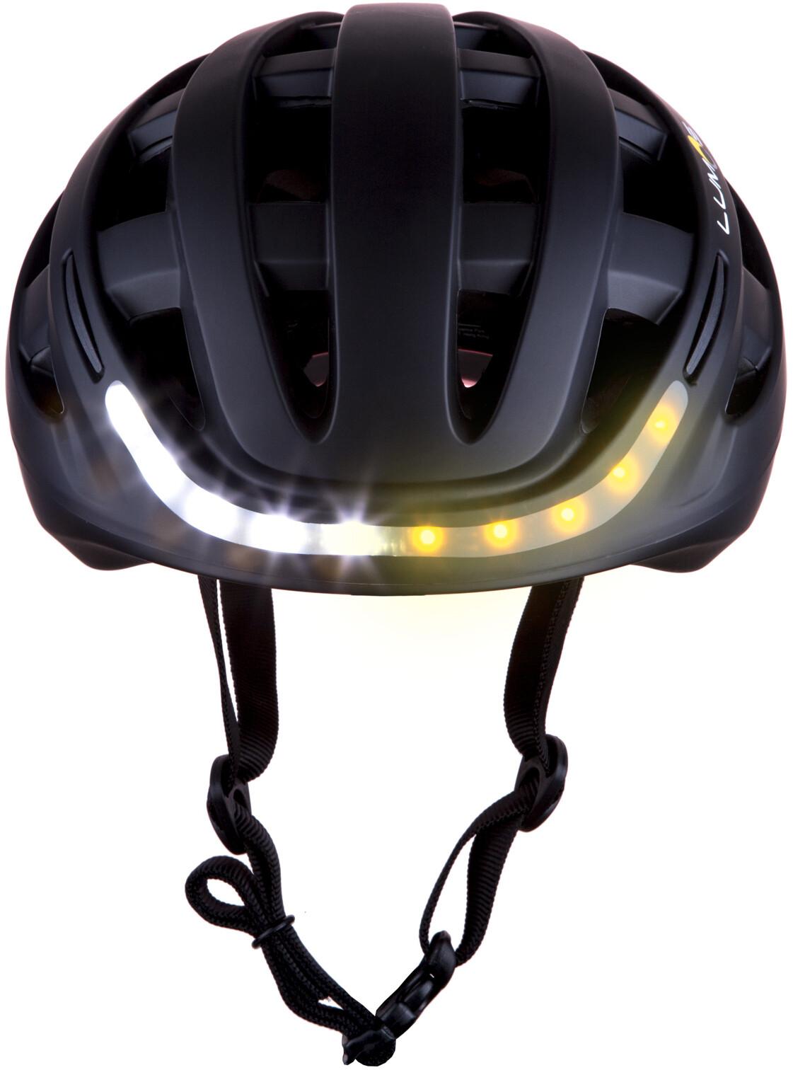 Lumos Kickstart Bike Helmet black at Addnature.co.uk