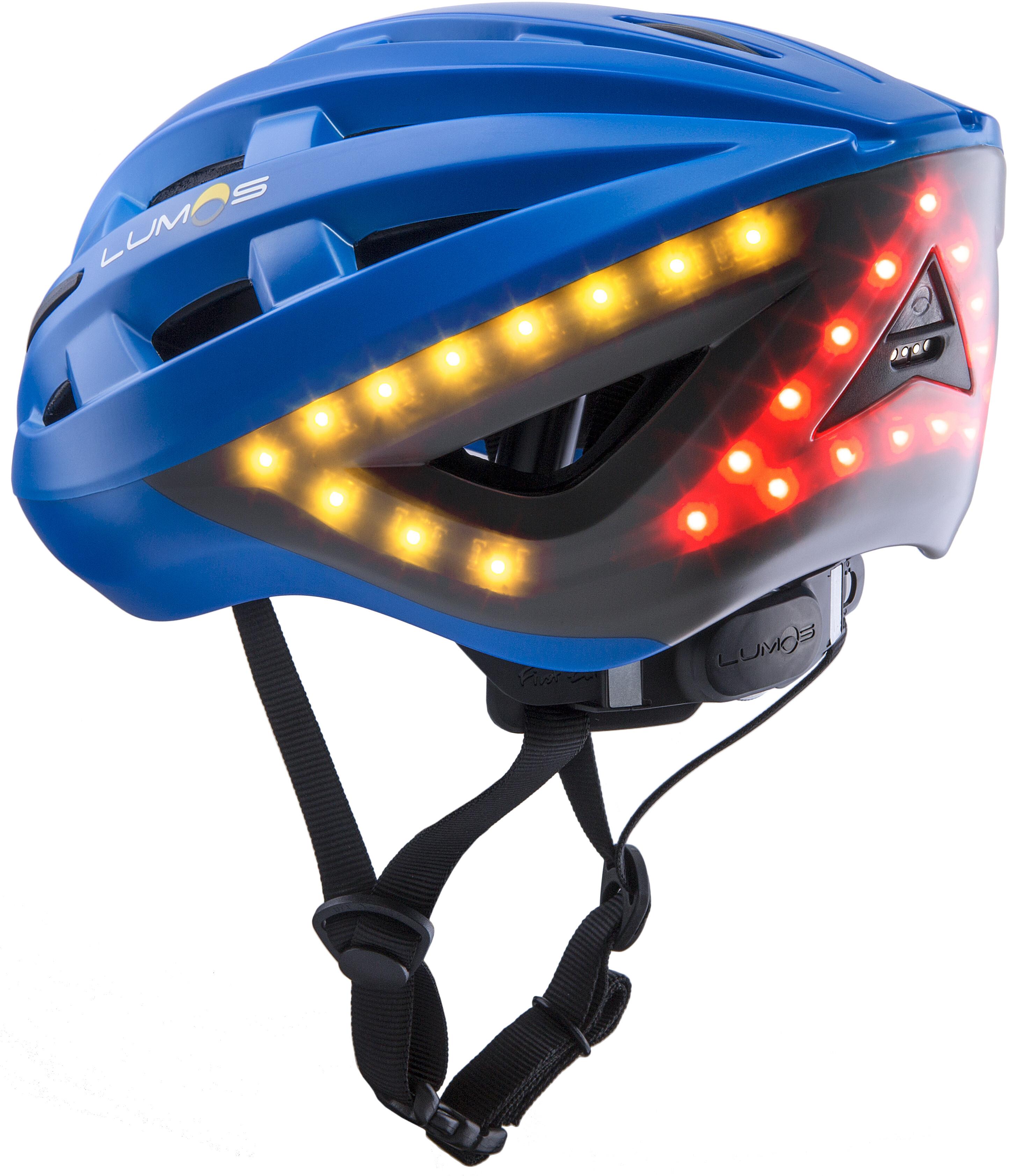 Lumos Kickstart Bike Helmet blue at Addnature.co.uk