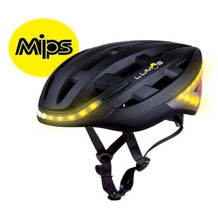 Lumos Kickstart Charcoal Black MIPS Adult 54-62cm LED Bike ...