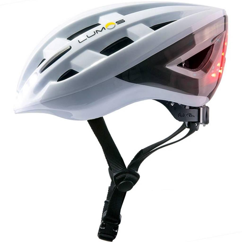 Lumos Kickstart Lite Smart Helmet, Polar White, Uni-size ...