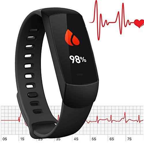 LUNASEA Wearable Oxygen Monitor - Black