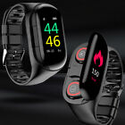 M1 Bluetooth Earphone with AI Smart Watch Heart Rate Monitor Smart Wristband