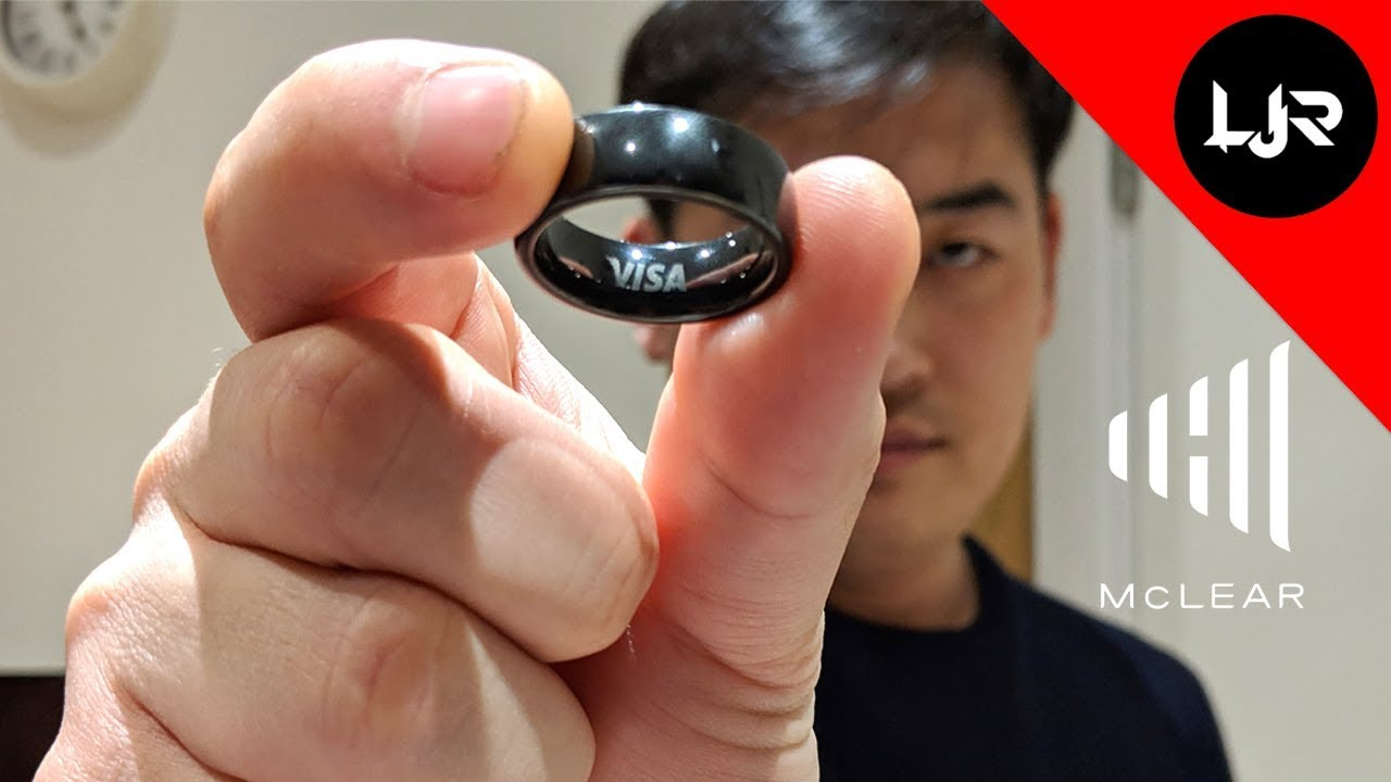 McLear Ring Review - Smart Ring Payment For All - YouTube