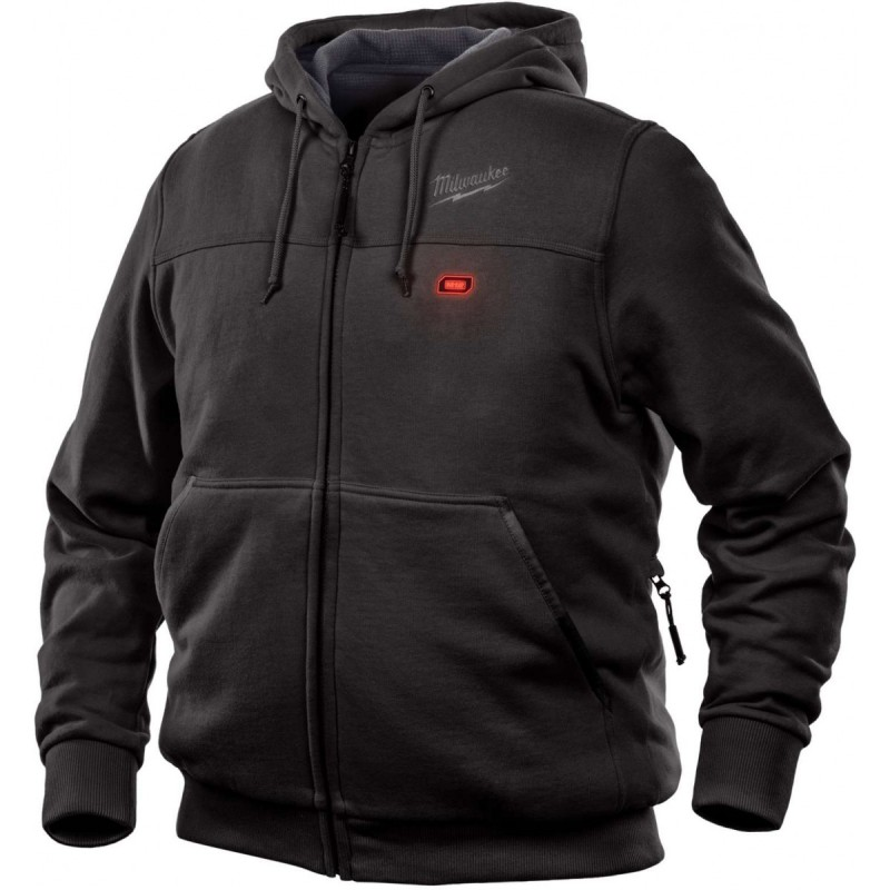 Milwaukee 302B-20, M12 Heated Hoodie Only (Black) - Heated ...