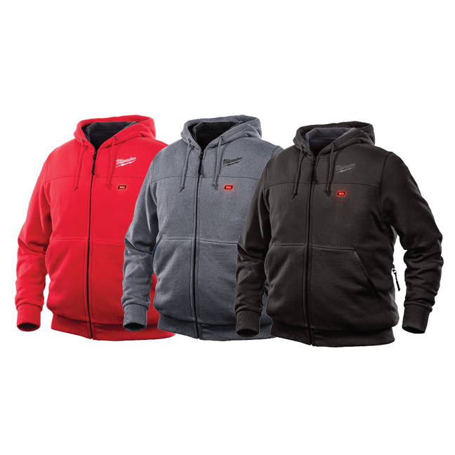 Milwaukee M12 Heated Hoodie - Red, Gray, Black, Camo