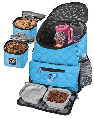 Mobile Dog Gear Weekender Dog Travel Bag (Light Blue)