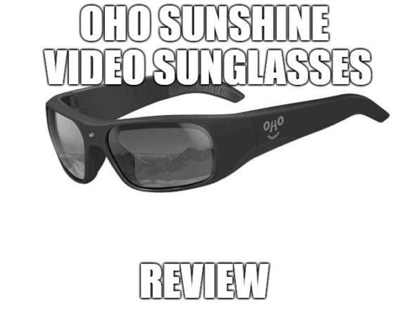 OhO Sunshine Video Sunglasses Review: Waterproof Eyewear ...