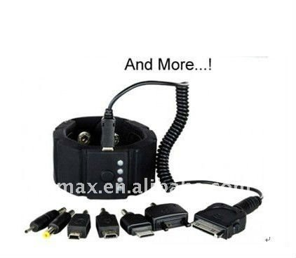 Omax Patented Hand Wearable Battery Pack Mobile Phone ...