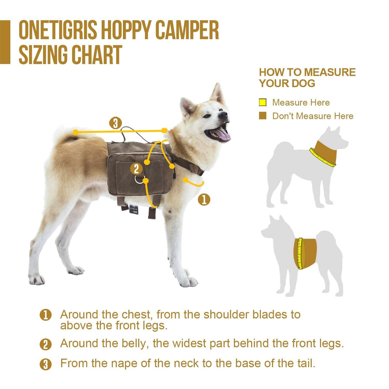 OneTigris Dog Pack Hound Travel Camping Hiking Backpack ...