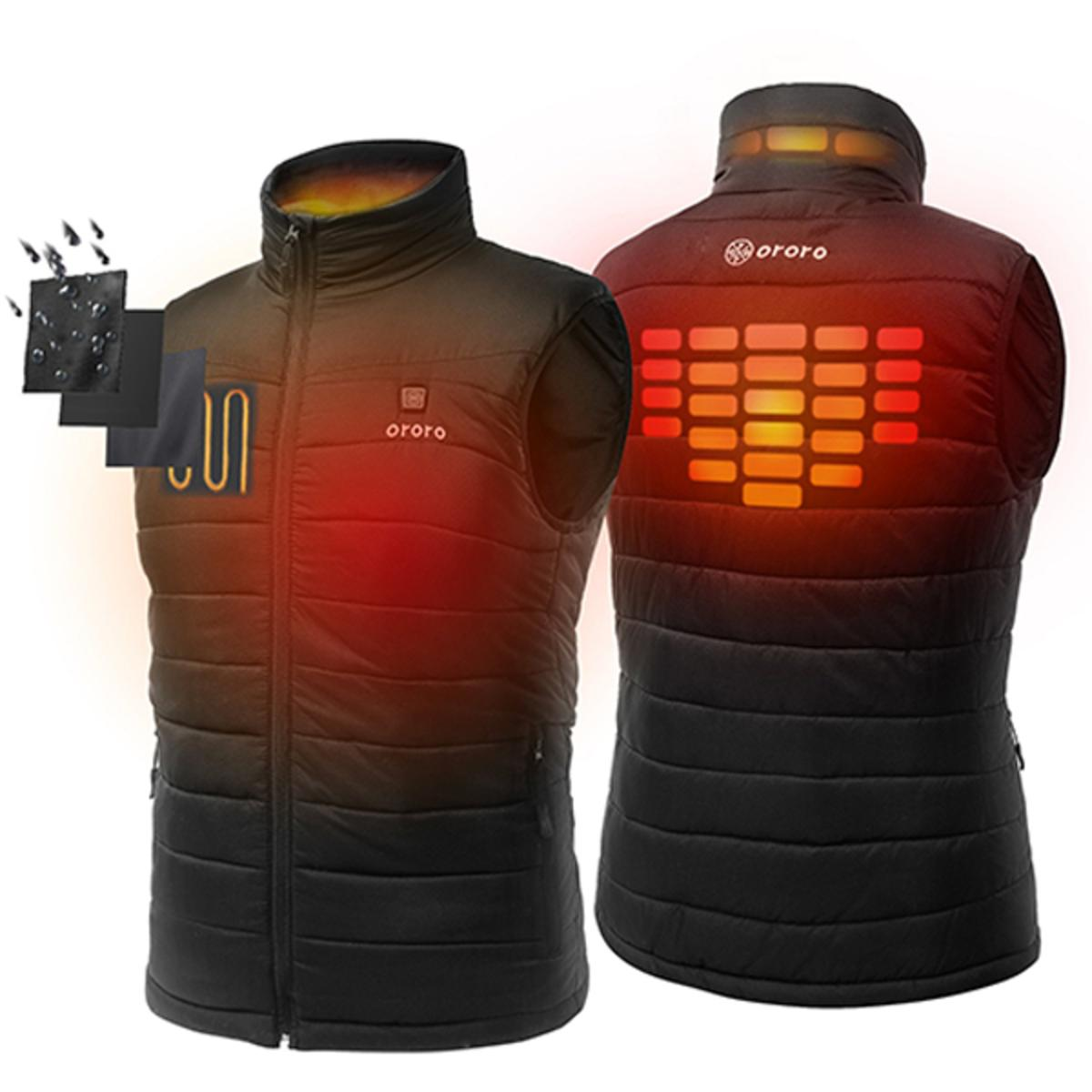 Ororo Men's Lightweight Heated Vest with Battery Pack - My ...