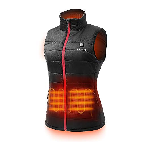 ORORO Women's Lightweight Heated Vest