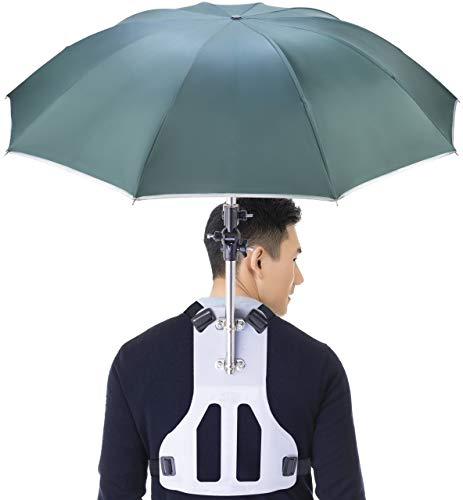Primo Supply Wearable Hands-Free Umbrella - GREEN
