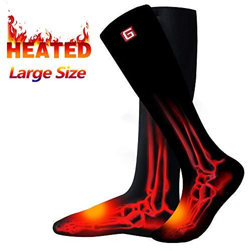 Rabbitroom Heated Socks (Black-L Size)