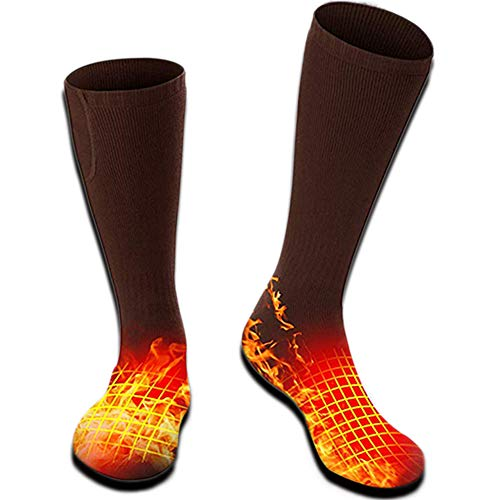 Rabbitroom Heated Socks (Coffe)