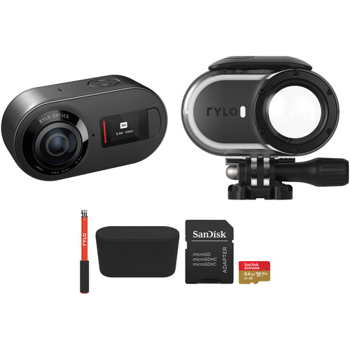 Rylo 360° 5.8K Camera Kit with Waterproof Case and Selfie