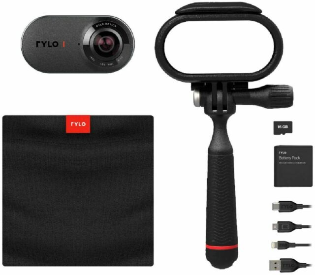 Rylo 5.8K 360 16GB Video Camera - Black for sale online | eBay