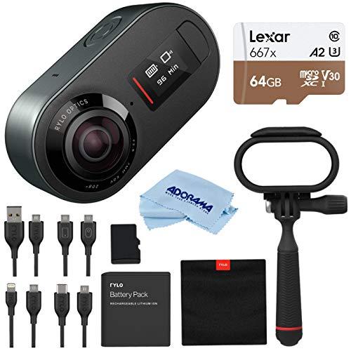 Rylo 5.8K 360 Degree Sports Action Video Camera Black ...