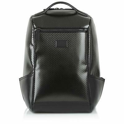 Safedome Genuine Carbon Fiber Laptop Anti-theft Backpack Travel Accessories f...