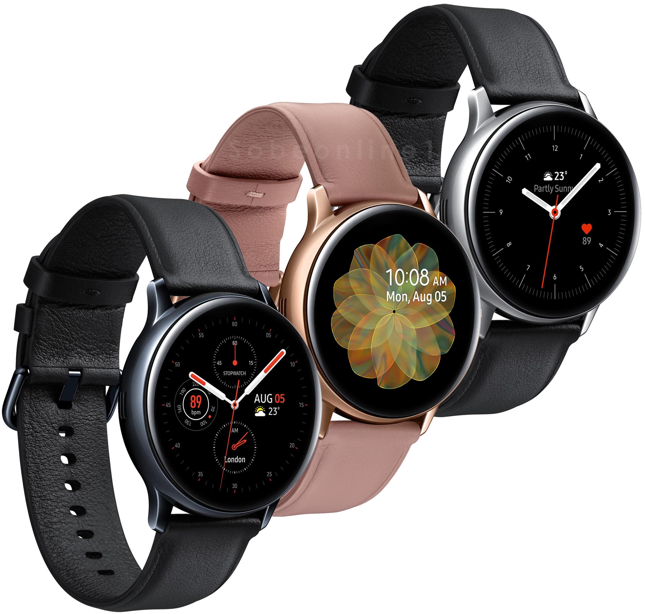 Samsung Galaxy Watch Active 2 SM-R820 44mm Leather ...