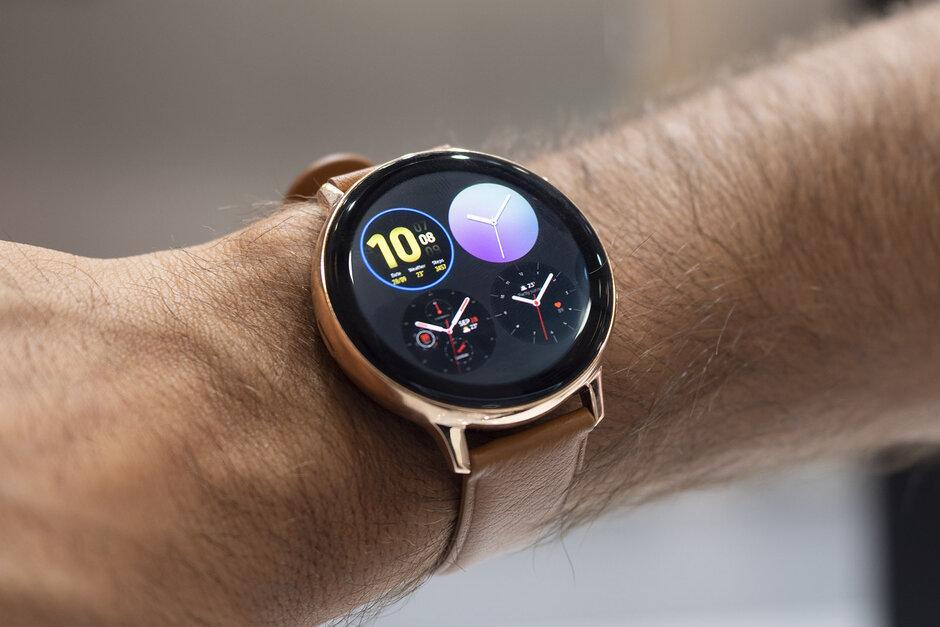 Samsung Galaxy Watch Active 2 update fixes a nasty bug ...