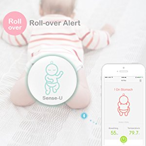 Sense-U Baby Breathing & Rollover Baby Movement Monitor ...