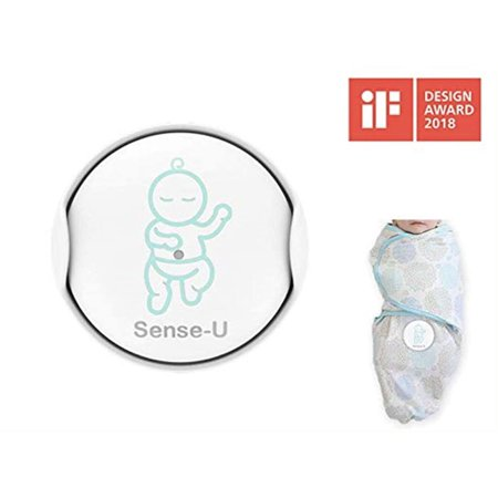 Sense-U Baby Breathing & Rollover Movement Monitor with a ...